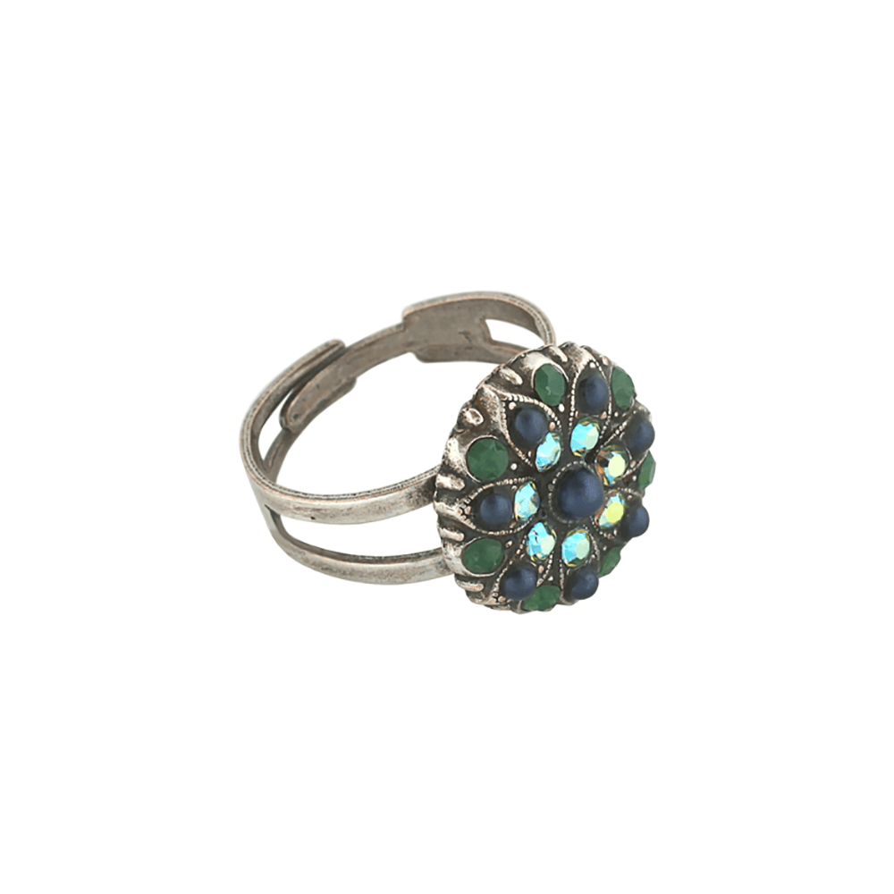 Mariana Silver Plated Ring | Roxanne's Jewellery | 1001sp