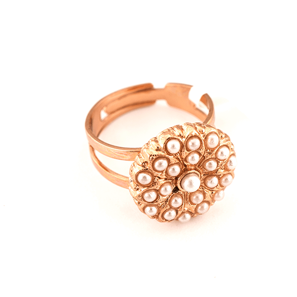 Mariana Rose Gold Plated Ring | Roxanne's Jewellery | M48RG
