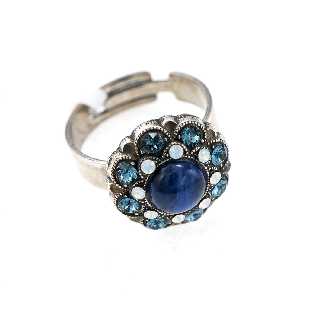 Mariana Silver Plated Ring | Roxanne's Jewellery | 1069SP