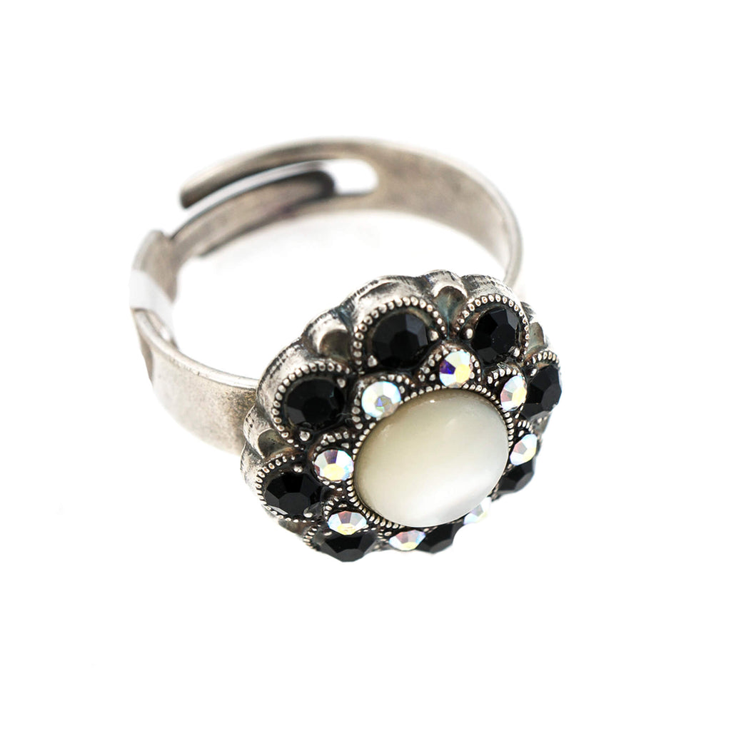 Mariana Silver Plated Ring | Roxanne's Jewellery | 87280SP