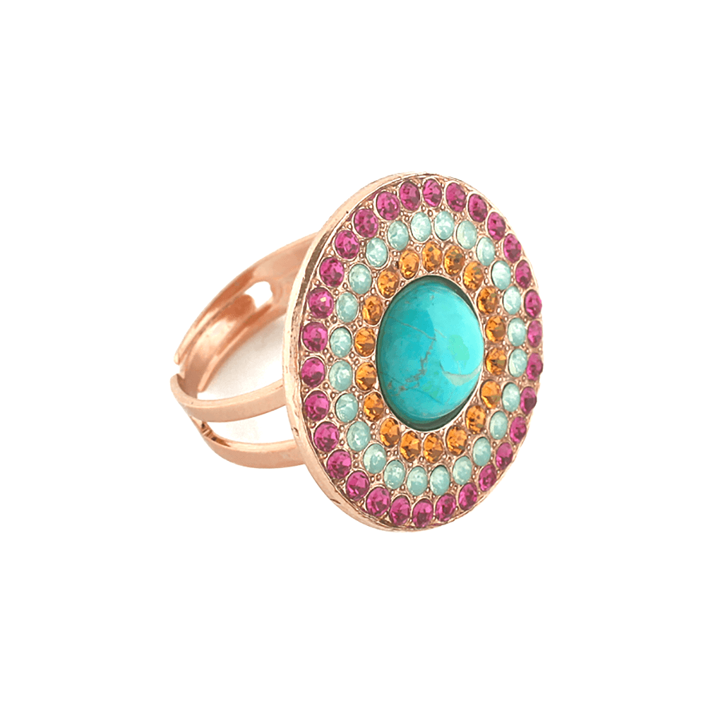 Mariana Rose Gold Plated Ring | Roxanne's Jewellery | 1007rg