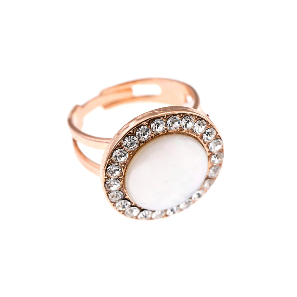 Mariana Rose Gold Plated Ring | Roxanne's Jewellery | M001RG