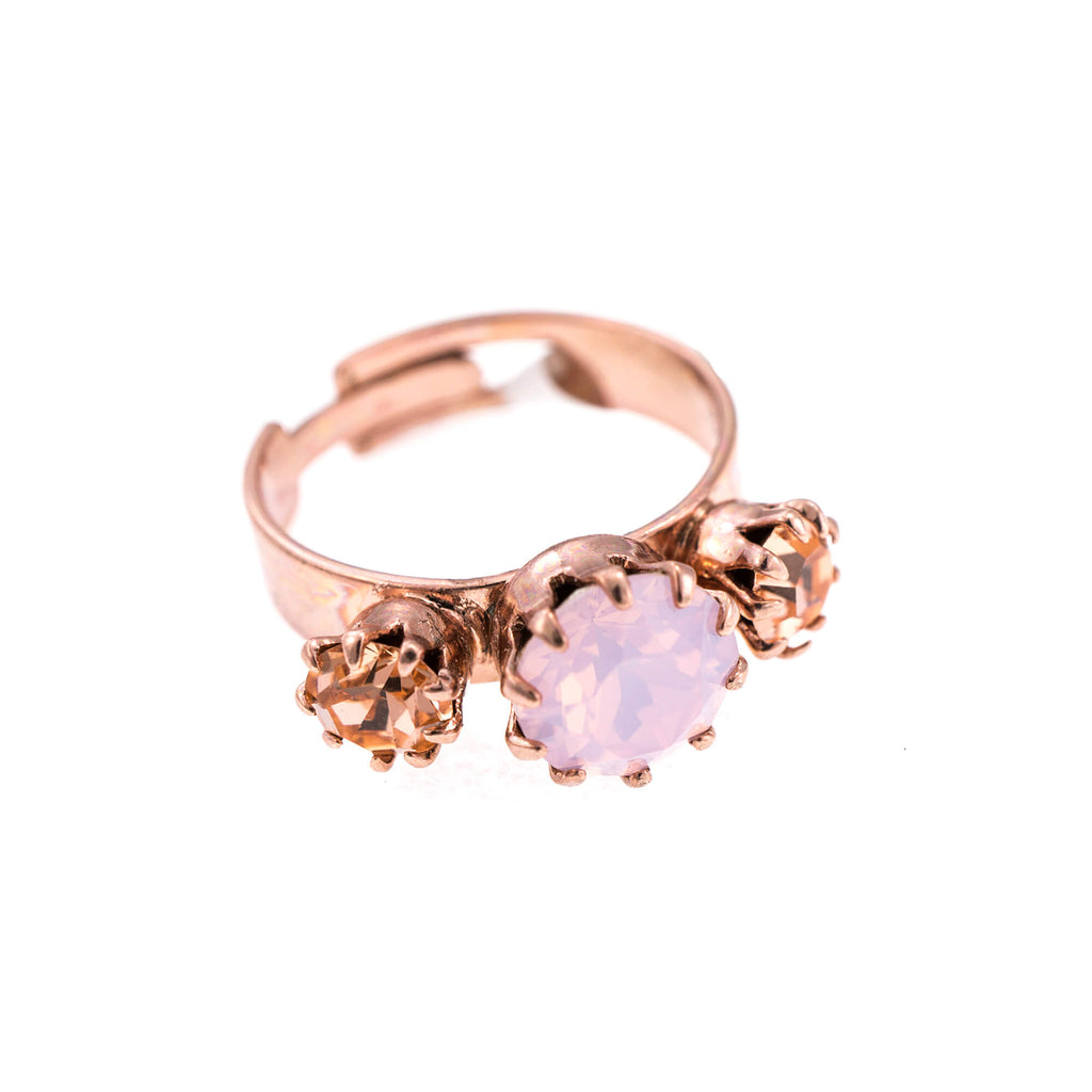 Mariana Rose Gold Plated Ring | Roxanne's Jewellery | 2333RG