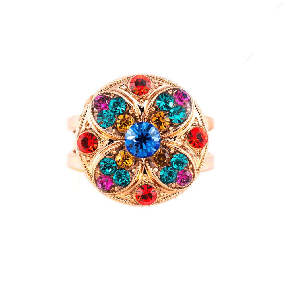 Fantasy Collection Rose Gold Plated Ring-7506-1037RG