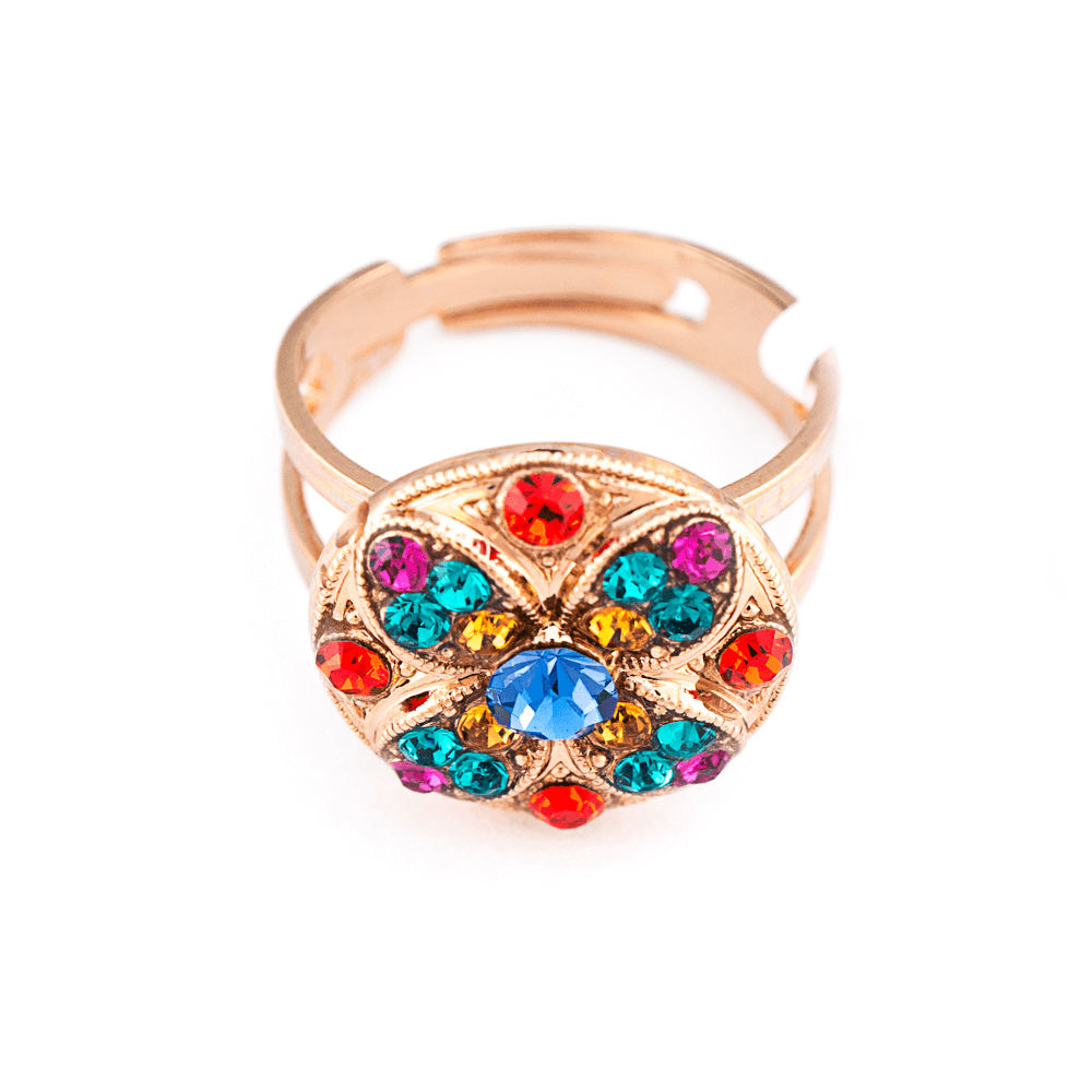 Mariana Rose Gold Plated Ring | Roxanne's Jewellery | 1037RG