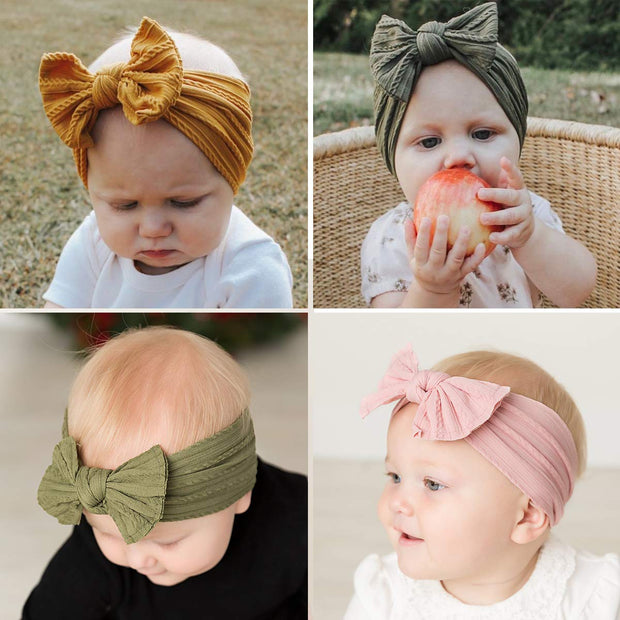 Baby Girl's Bowknot Decor Headband