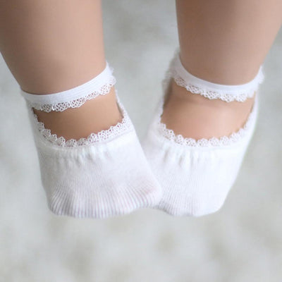 Cute Lace Design Socks for Baby