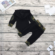 "2PCS ""Aitn't No Mama Like The One I Got"" Camouflage Printed Baby Set"