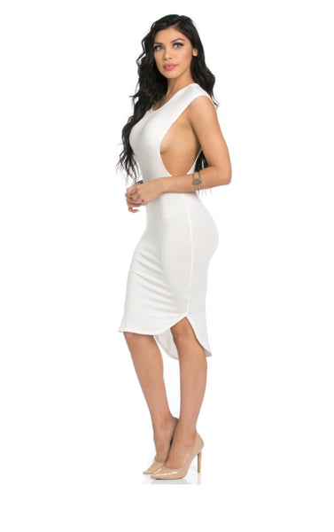 Samiyah Side Cut Out Dress