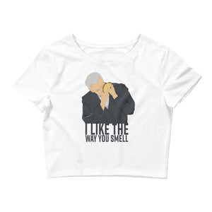 I Like The Way You Smell - Women's Crop Tee