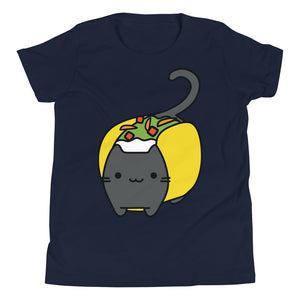 Big Taco Cat - Youth T-Shirt