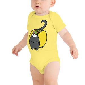 Big Taco Cat - Baby One Piece