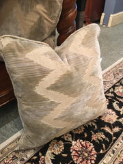"18""X18"" PILLOW,Consign & Design,Pillow,clearance, WELLINGTON- Consign & Design Consignment Store South FL"