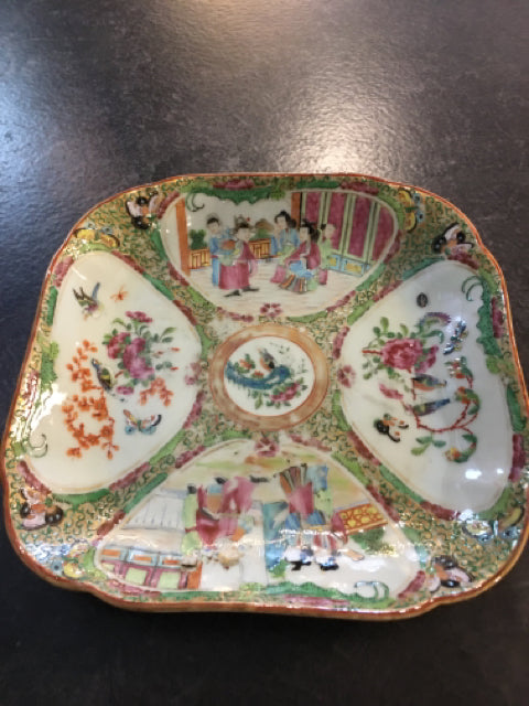 ASIAN PLATE SQUARE,Consign & Design,Misc.Table Top,PGA- Consign & Design Consignment Store South FL