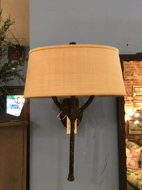 PAUL FERRANTE SCONCE BRANCH PAIR