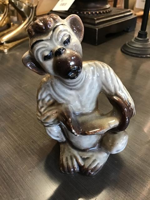 SMALL MONKEKY FIGURINE,Consign & Design,Home Decor Gifts,WELLINGTON- Consign & Design Consignment Store South FL