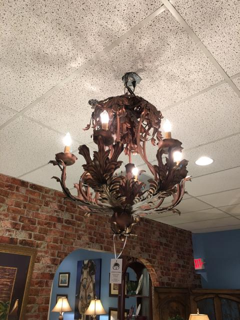 Chandelier,Consign & Design,Chandelier,clearance, Lighting, WELLINGTON- Consign & Design Consignment Store South FL