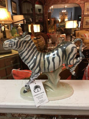 ROYAL DUX ZEBRA FIGURE,Consign & Design,Home Accessories,WELLINGTON- Consign & Design Consignment Store South FL