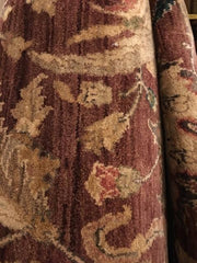 Rectangular Rug 10' X 13' Maroon Background,Consign & Design,Rectangular Rug,PGA, Rug- Consign & Design Consignment Store South FL