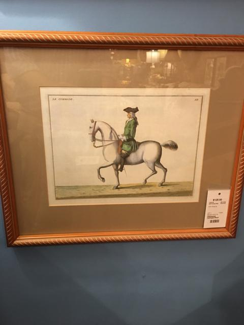 DRESSAGE PRINT,Consign & Design,Print,clearance, WELLINGTON- Consign & Design Consignment Store South FL