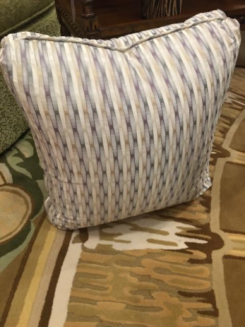 STRIPPED PILLOW,Consign & Design,Pillow,clearance, WELLINGTON- Consign & Design Consignment Store South FL