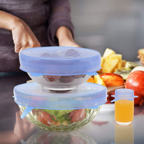 Airtight Food Wrap Covers All Sizes Shapes of Containers