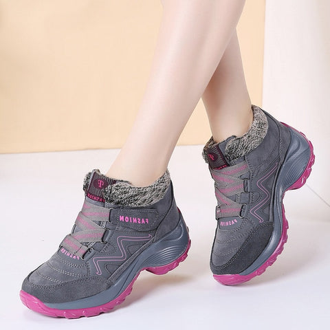 Women Snow Boots High Quality Winter Warm