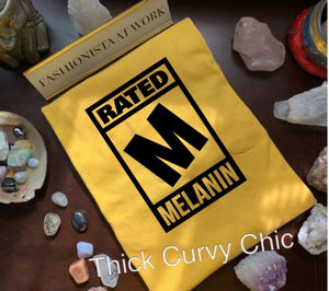 Rated M Melanin Tee