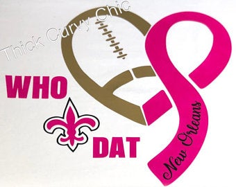 WHO DAT Breast Cancer Tee