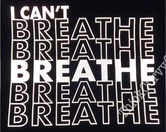 I CAN'T BREATHE Reflective Tee