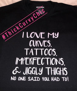 LOVE MY CURVES Tee