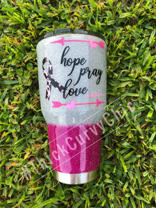 Breast Cancer Tumbler