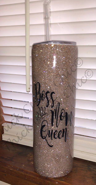 BOSS MOM QUEEN Tumbler