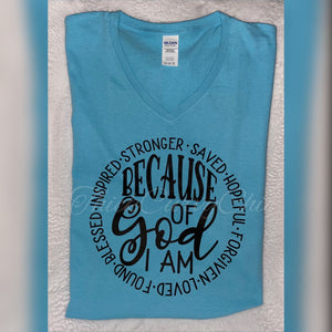 Because of GOD tee