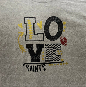 Love Saints tee