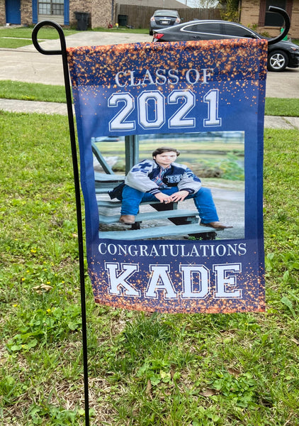 Graduation Yard Flag