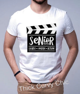 SENIOR: Lights, Camera, Action Tee