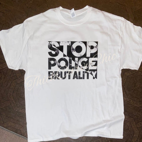 Stop Police Brutality Tee