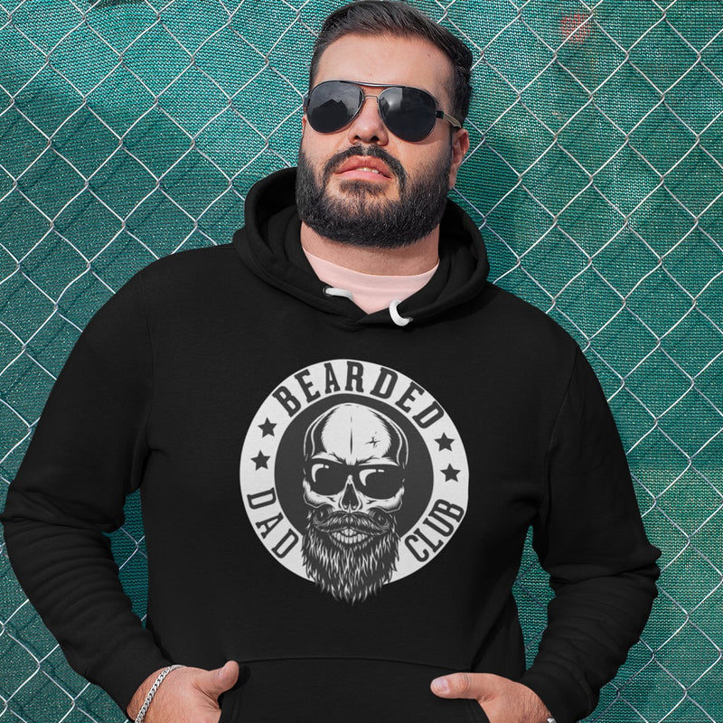 Hoodie - Bearded Dad Club - PAPAZONE.de