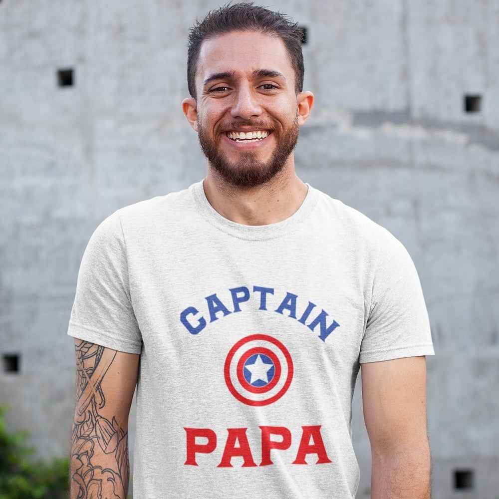 T-Shirt - Captain PAPA - PAPAZONE.de