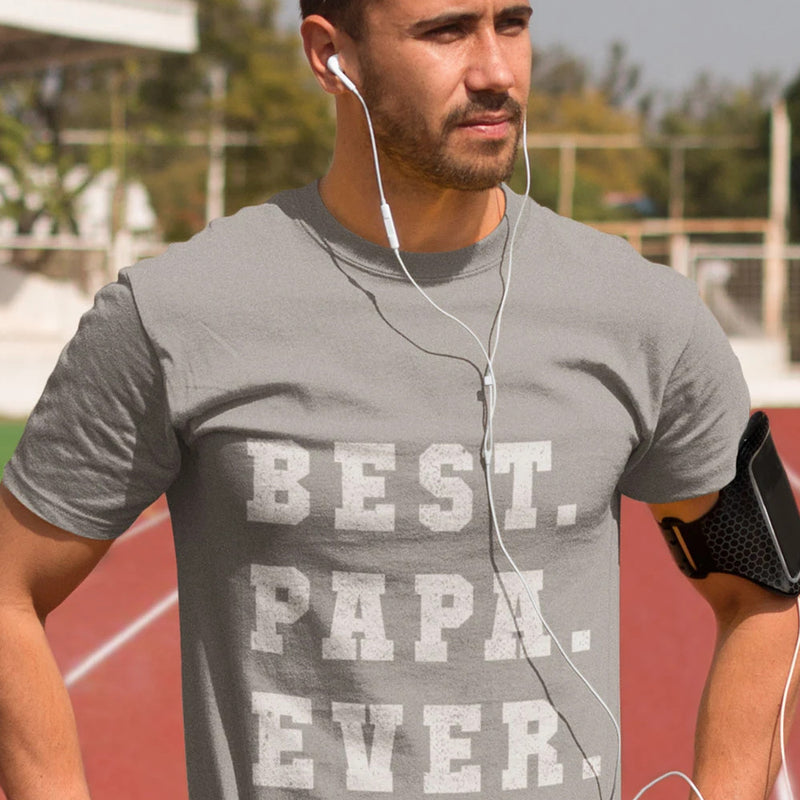 T-Shirt - Best Papa Ever - PAPAZONE.de