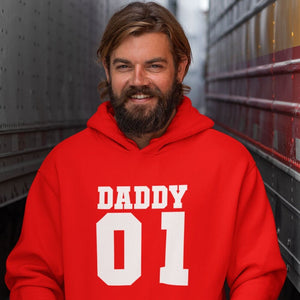 Hoodie - Daddy 01 - PAPAZONE.de