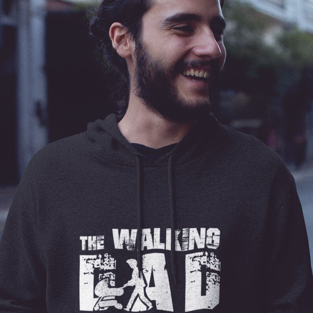 Hoodie - The walking Dad - PAPAZONE.de