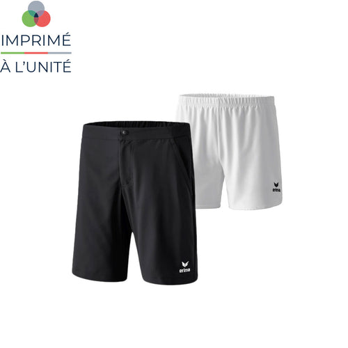 Short de tennis erima personnalisable