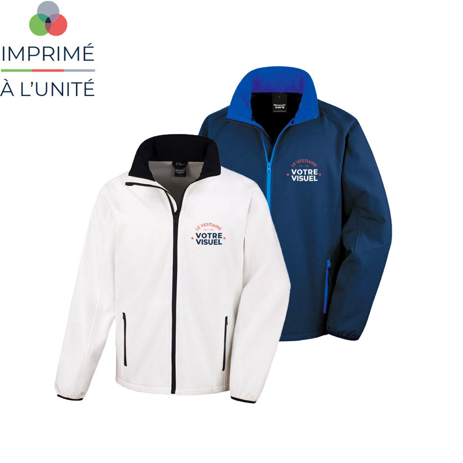 Veste softshell personnalisable