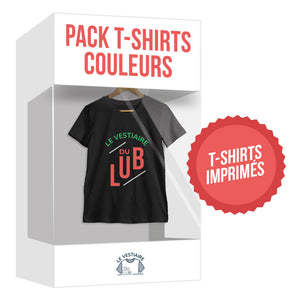 Lot de t-shirts cotons