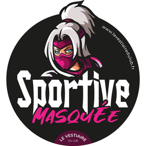 "Autocollant collector 2020 ""Sportive masquée"" HARMONY"