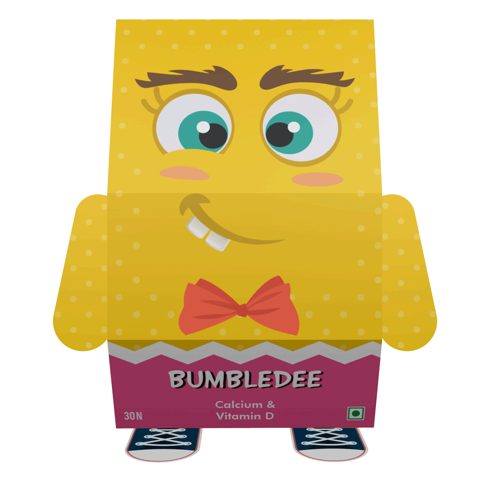 Bumbledee, vitamin d gummies , vitamin for bones, strong bones