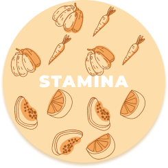 stamina , strength ,  vitaminbs