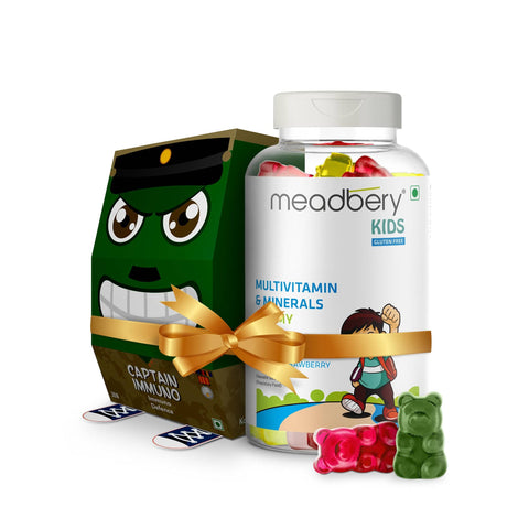Multivitamin & Immunity Elderberry Gummies Gift Combo